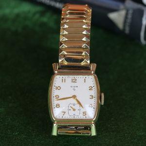 Vintage Elgin Men's Wrist Watch